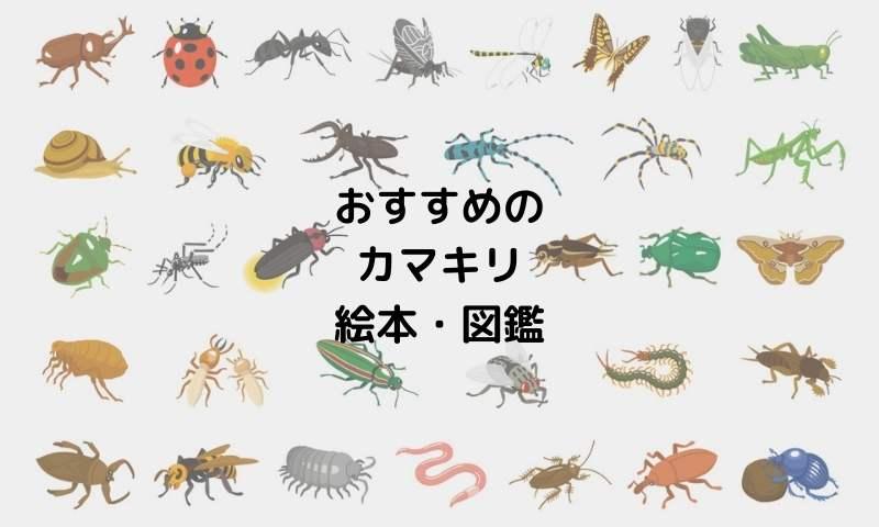 おすすめのカマキリ絵本図鑑