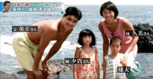 渡邊雄太選手の家族
