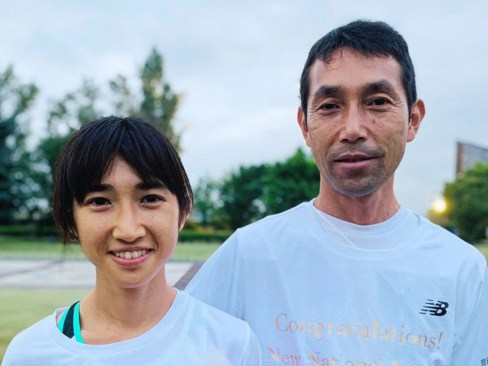 田中希実と父親