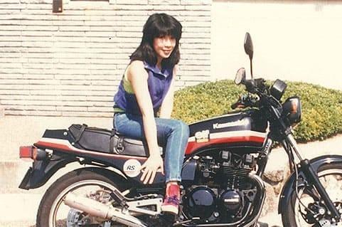 学生時代にバイクが趣味だった高市早苗さん2